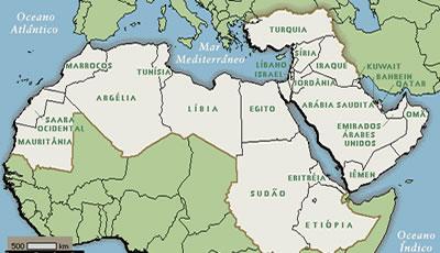 Resultado de imagem para semitas mapa