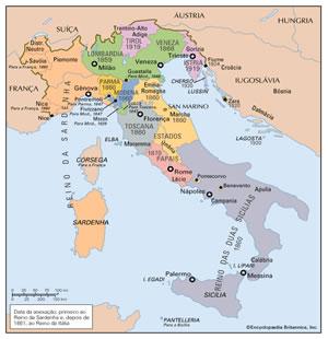 Unificaes de Itlia e Alemanha  HistoriaLivrecom